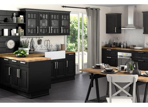 Contemporary Apartment Design indogate com cuisine noir et blanc et bois