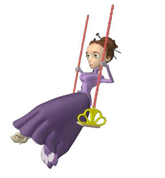 animate swing woman swinging on swing animated gif gif εικόνες