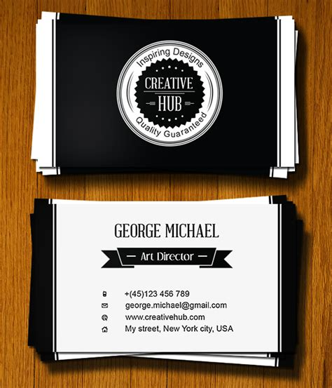 business card brand illustrator template design a clean colorless business card in illustrator