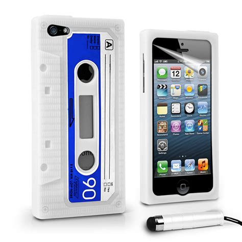 retro cassette silicone for apple iphone5 iphone 5 5g stylus ebay