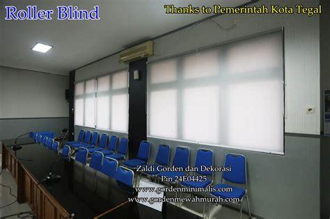 Gordyn Roller Blinds 4 roller blind jakarta promo rainbow blinds mulai