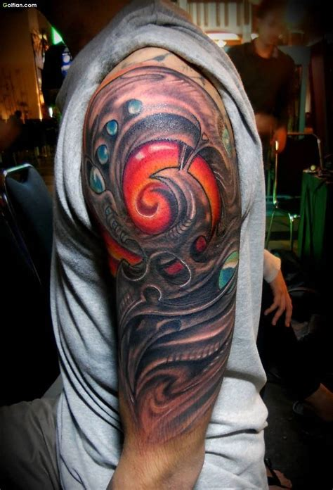3d sleeve tattoo designs 60 mind boggling 3d arm tattoos designs and ideas