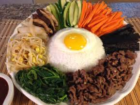how to cook bibimbap rice vegetables korean food recipes