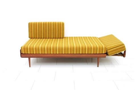 knoll antimott sofa teakwood daybed and sofa by knoll antimott germany 1950s