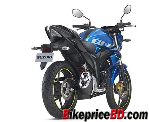 Suzuki Gixxer Bike Price Suzuki Gixxer 2017 Edition All Bike Price In Bangladesh