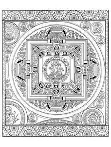 coloriage mandala tibet 224 imprimer sur coloriages info