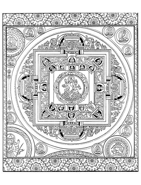 to print this free coloring page 171 coloring adult mandala