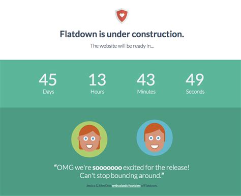 bootstrap linearlayout flatdown flat ui pro quot in construction quot template themeforest