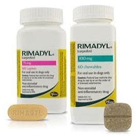 rimadyl dosage for dogs medication for your