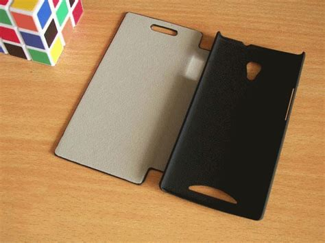 Galeno Flip Cover Oppo Neo 9 Hitam jual leather flip untuk oppo find way u7015