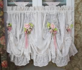 shabby chic valances 25 best ideas about swag curtains on country