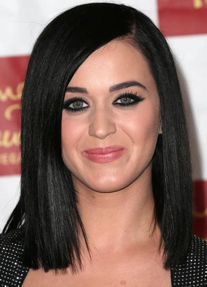 katy perry s new choppy bob hairstyle picture of katy perry new look with cute long bob