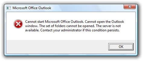 Cannot Start Microsoft Office Outlook Cannot Open The Outlook Window by Password Protect Outlook 2007 Info Technology Forum