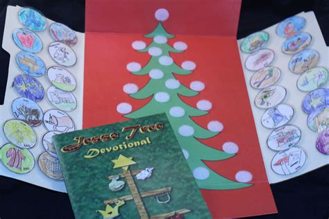 devotion around a christmas tree tree devotional lapbook mission