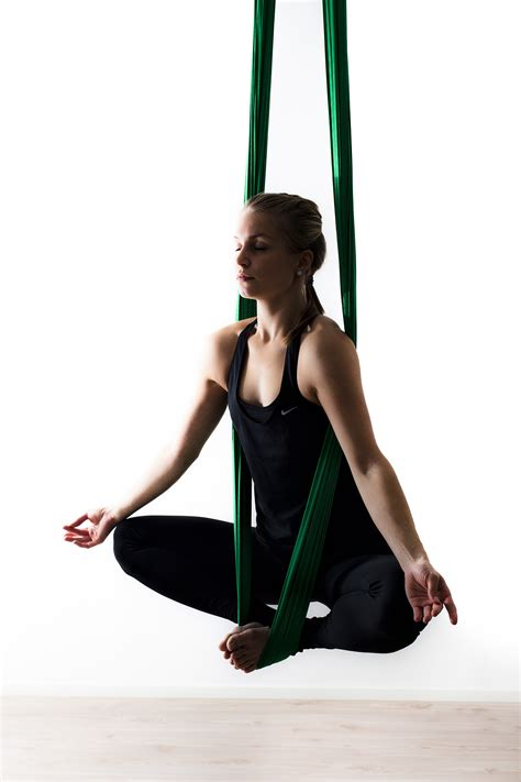 aerial combine traditional poses pilates and with the use of a hammock books fitness trends get fit be happy