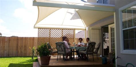 backyard shade options patio shade shade n net