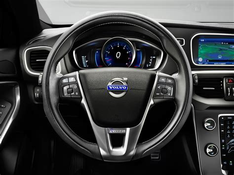 volvo steering wheel v40 r design specially designed steering wheel eurocar