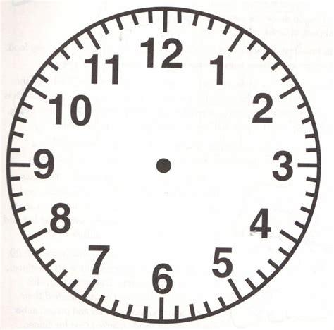 printable rectangular clock face printable clock face template business