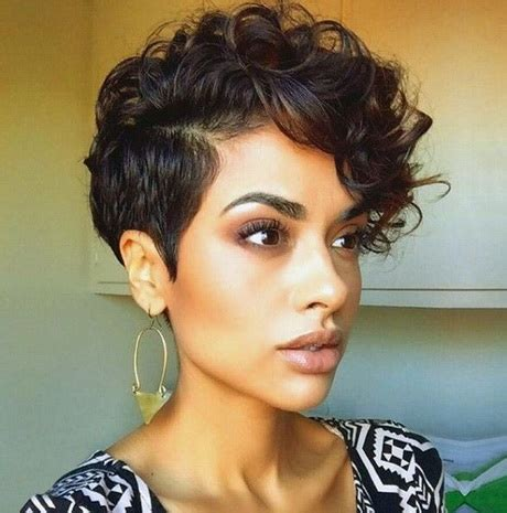 short haircuts on curly hair very short curly hairstyles 2016