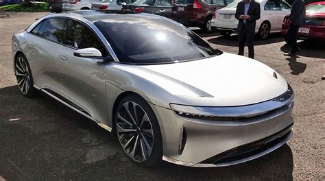 Tesla Water Lucid Air Reaches Top Speed Of 235mph Blows Tesla Out Of