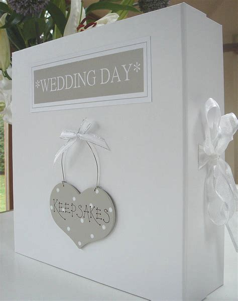 Wedding Keepsake Box by Personalised Keepsake Or Memory Box By Bird Designs