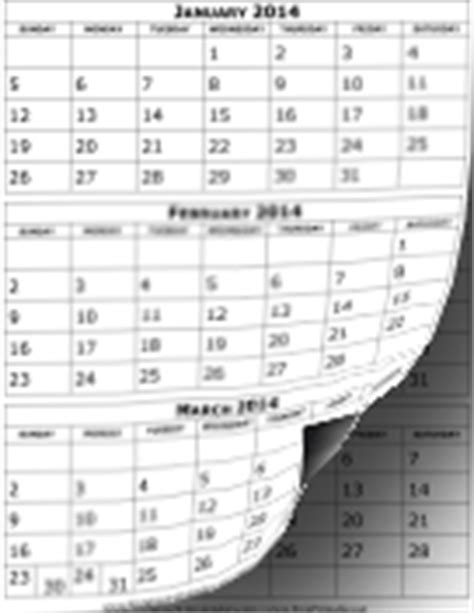 Calendar 3 Months Per Page Calendars 3 Months Per Page 2015 Printable Page 2 Search