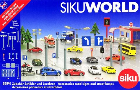 kavanaghs toys siku world road signs and l pack