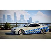 2 Fast Furious  Nissan Skyline R34 Livery GTA5 Modscom