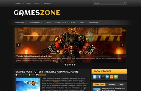 themes download games 20 free and premium wordpress themes for online games