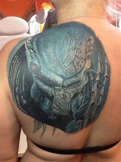alien head tattoo 58 fantastic tattoos on back