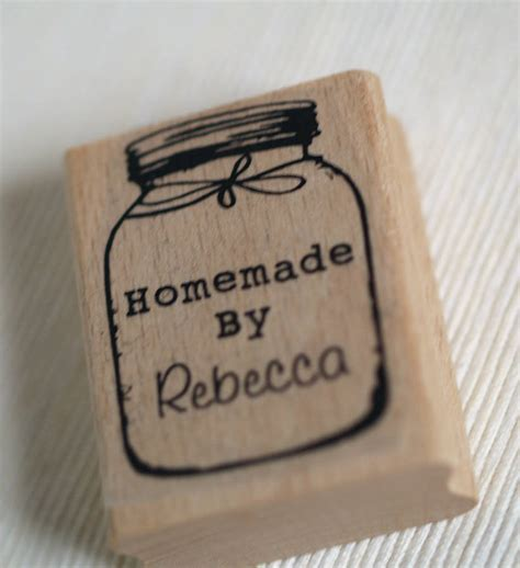 make rubber st at home personalised by jar rubber st by pretty