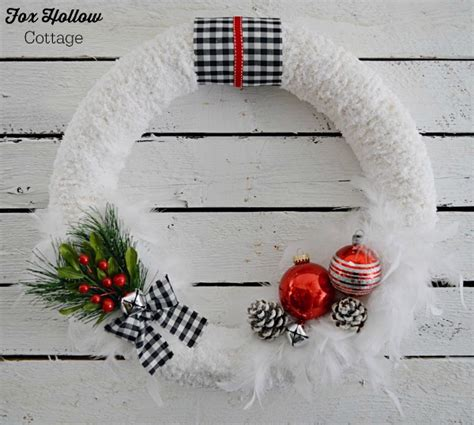 how to make christmas bells at home sneak peek and 15 diy wreaths fox hollow cottage