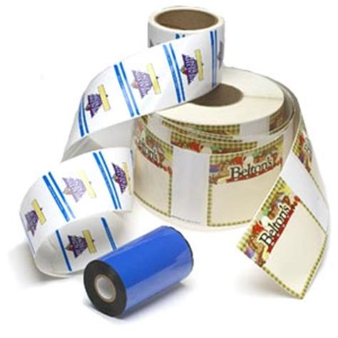 Code Ribbon Printed thermal transfer ribbons print bar codes or pre printed