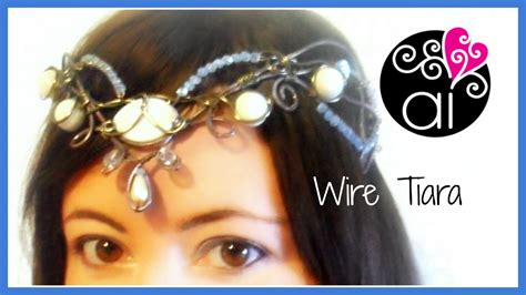 wire tiara diy wire wrapping tutorial