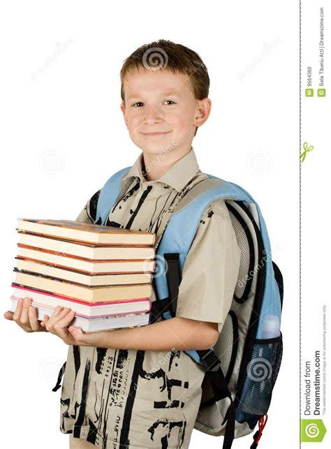 la joven del acantilado b00fbplkwg muchacho de escuela joven sosteniendo los libros foto de archivo imagen 9564360