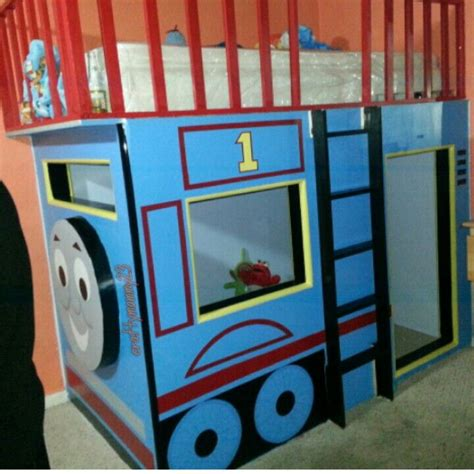 thomas the train bed thomas the train built in bed bdroom pinterest