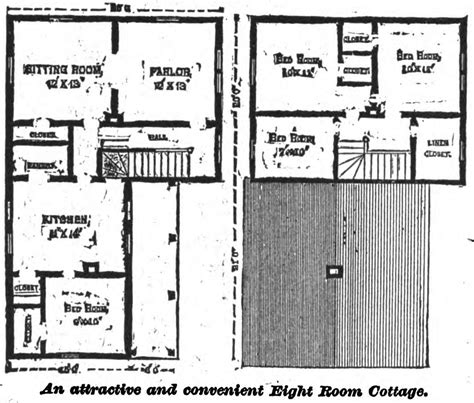 19th century floor plans 19th century historical tidbits 1895 rural house plans 2