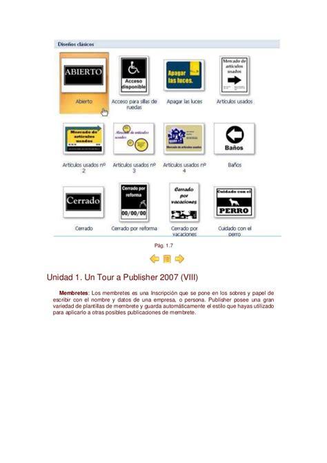 manual de publisher 2007 manual de publisher 2007