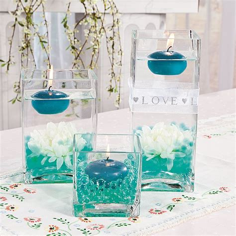 water pearl centerpieces for wedding best 20 water centerpiece ideas on