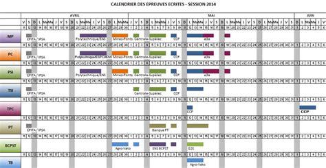 Calendrier Concours Cpge Calendrier Scei 2014