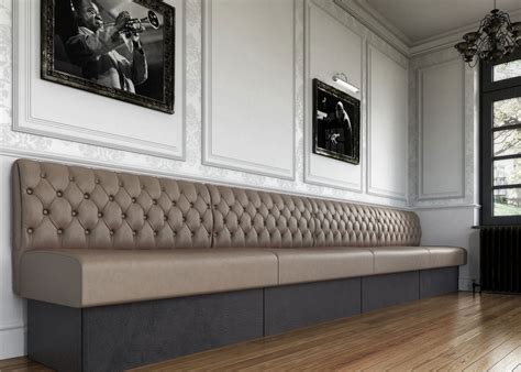 banquette seating fixed seating bench seating
