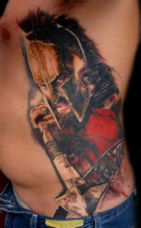 movie tattoos 300 spartan enngraved tattoos