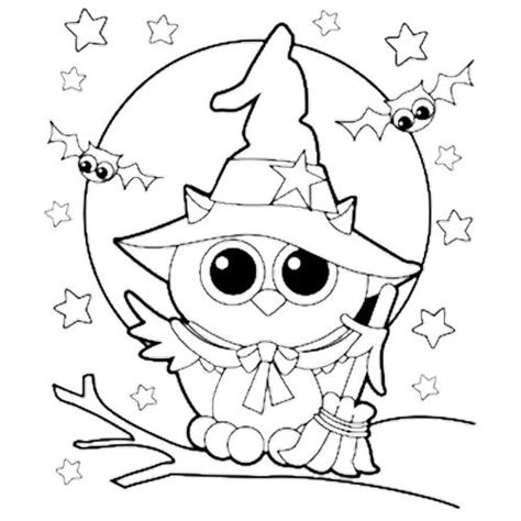 halloween coloring pages owl coloring halloween and coloring pages on pinterest