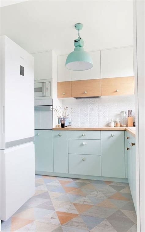 pastel kitchen ideas chic touch to your kitchen with pastel colors