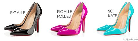 most comfortable pointed toe pumps christian louboutin pigalle vs pigalle follies vs so kate