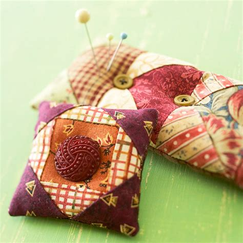 Patchwork Pincushion Pattern - our best pincushions