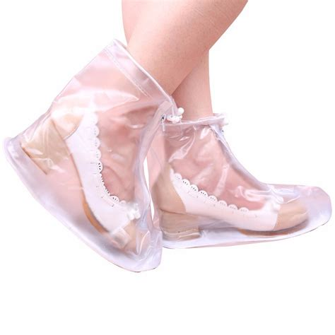 high heel shoe covers shoes cover zipper ankle boots waterproof