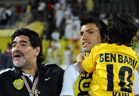 benjamin aguero maradona the heirs of footballing geniuses benjamin aguero