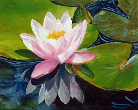marina petro adventures in daily painting lotus water