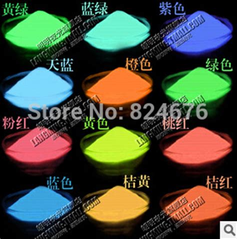 can you mix glow in the powder with regular paint mixed 5 colors luminous glow powder 130g lot bright